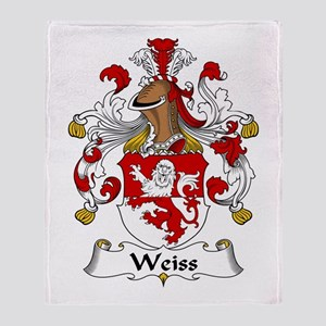 Weiss Throw Blanket